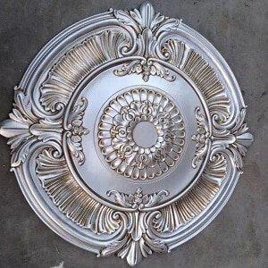 Old Sliver Ceiling Rose