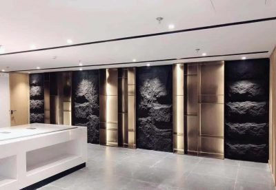 Murshroom stone panel dark