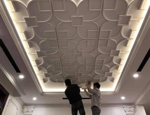 Decorative Grille Ceiling Design