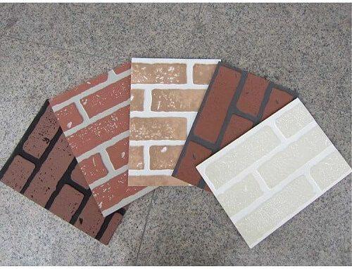 Hardboard Faux brick panelling 4×8 '