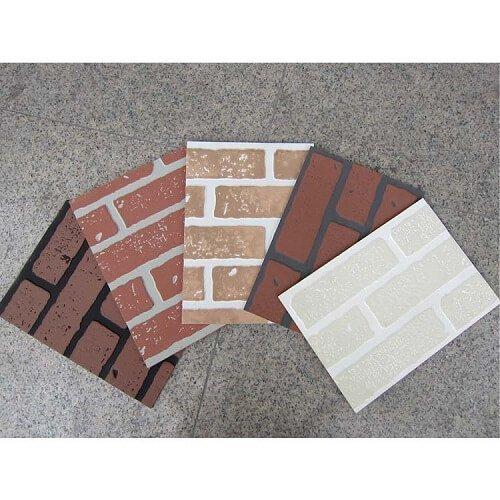 Embossed Hardboard Faux Brick Panelling 4x8 Ft Wall Panels