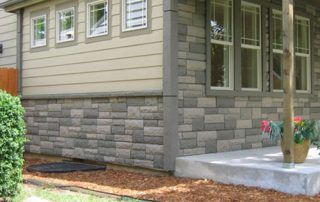 polyurethane stone siding
