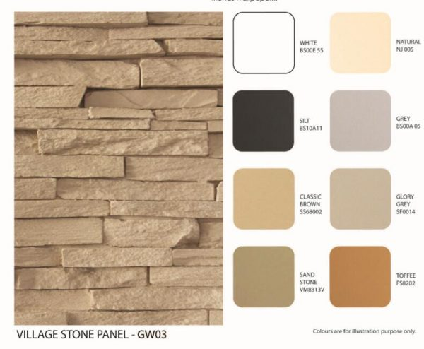 Faux Stone Siding Voillage Stone