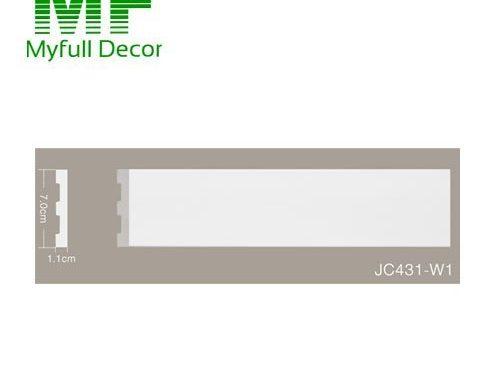 Flat Skirting & Baseboard 7cm Hight