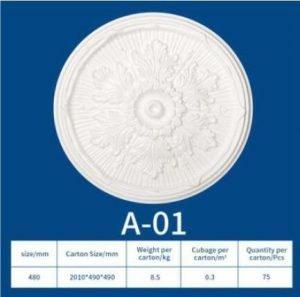 EPS Ceiling Medallion A 01