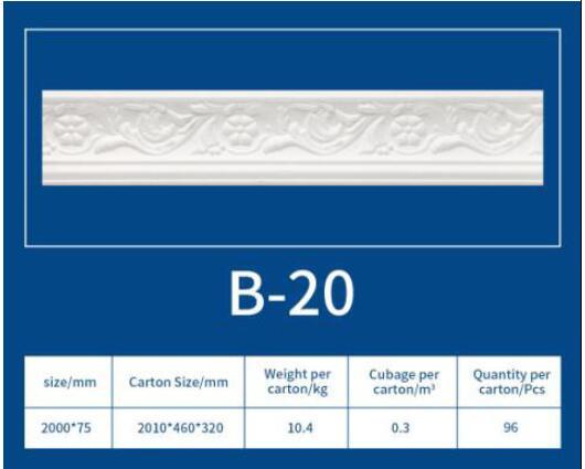 EPS Cornice Molding B20