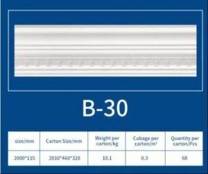 EPS Cornice B30