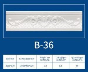EPS Cornice B36
