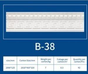 EPS Cornice B38