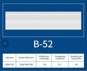 EPS Cornice B52