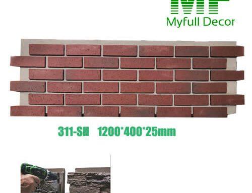 Faux brick Panel 311-SH