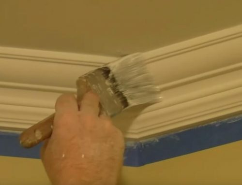How To Paint Cornice Moulding & Coving