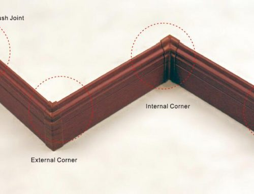 Baseboard Corner Blocks