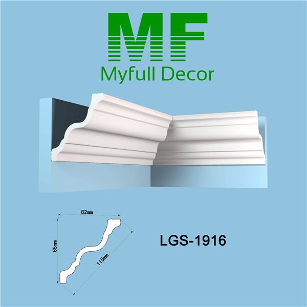 XPS Polystyrene Coving Cornice LGS1916