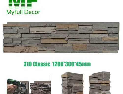 Stacked Stone Panel 310 Classic Color 48×12″