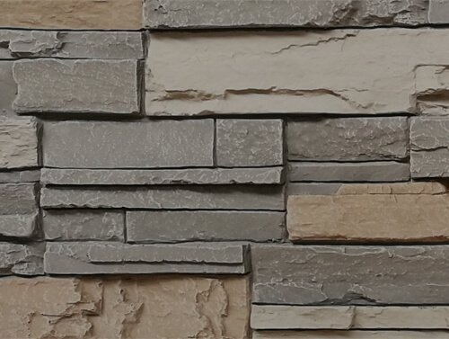 stacked stone panel 310 classic color detail