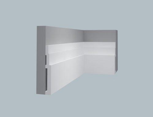 4076 Steps Baseboard 4 1/2″ H x 3/4″ P