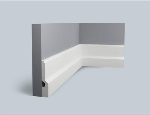 Modern Polyurethane Skirting Board 4″ H x 3/4″P