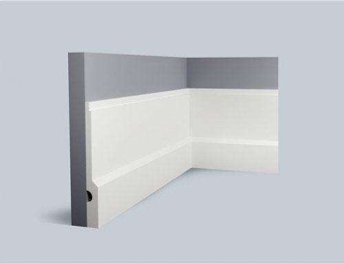 Modern Polyurethane Baseboard 7 1/2″ H x 3/4″ P