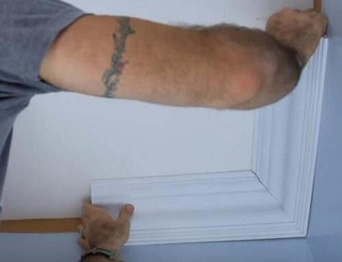 How to Cut An 90 Degree Crown Molding Corner