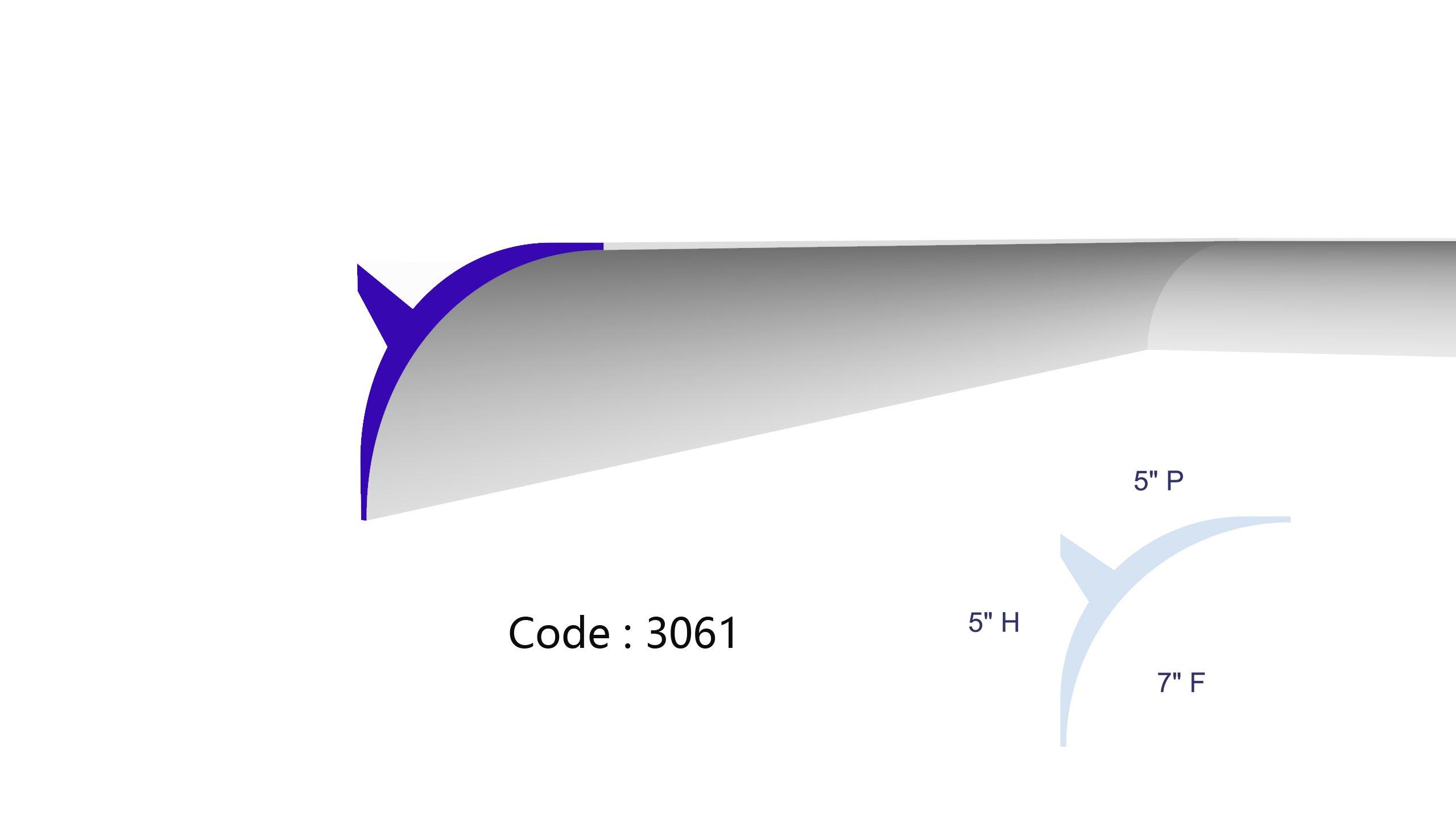 3061 Cover Curtain Profile